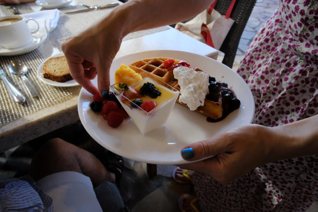 ロイヤルハワイアンホテル Azure(アズーア)の朝食
